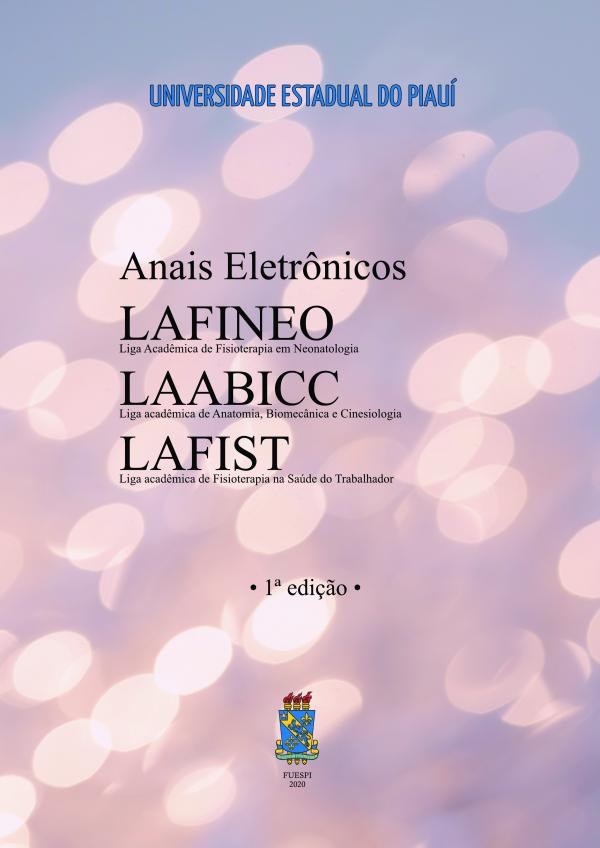 Capa para Anais Eletrônicos LAFINEO, LAABICC e LAFIST