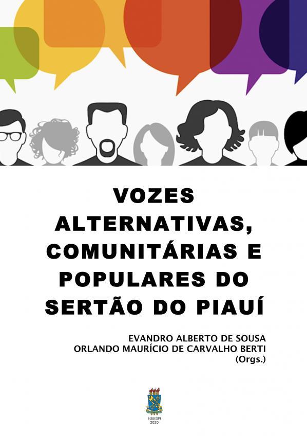 Capa para Vozes alternativas, comunitárias e populares do sertão do Piauí