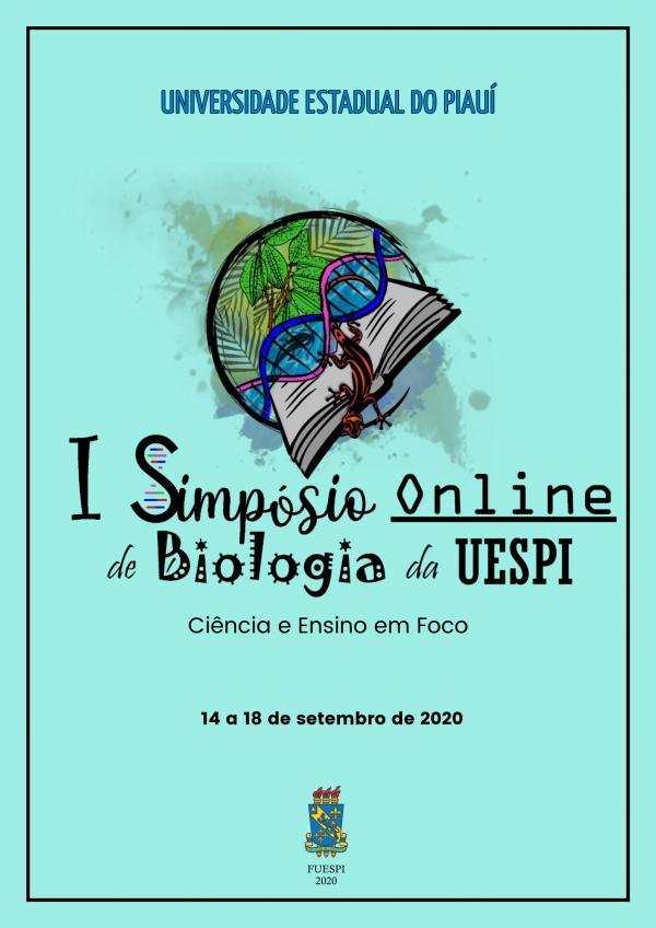 Capa para Anais do I Simpósio Online de Biologia da UESPI : Ciência e Ensino em foco