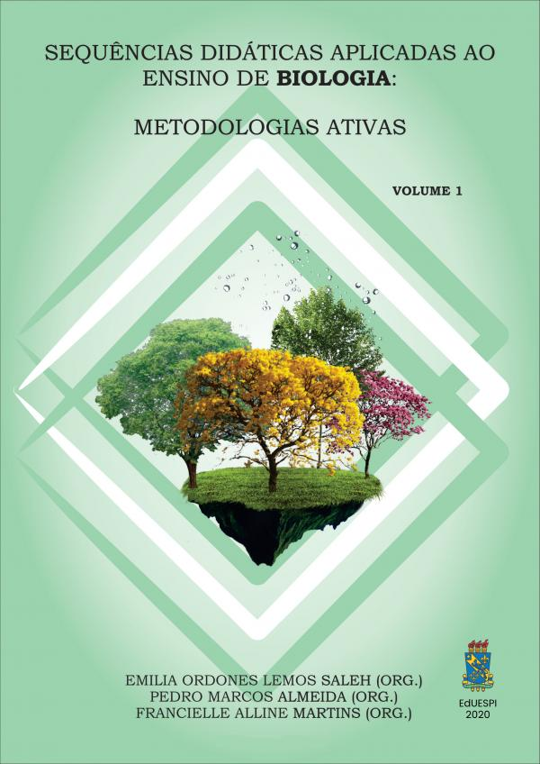 Capa para Sequências Didáticas Aplicadas ao Ensino de Biologia: Metodologias Ativas