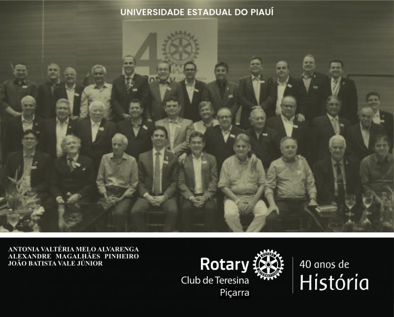 Capa para Rotary Club de Teresina Piçarra: 40 anos de História