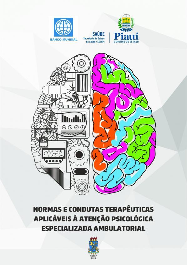 Capa para Normas e Condutas Terapêuticas Aplicáveis à Atenção Psicológica Especializada Ambulatorial