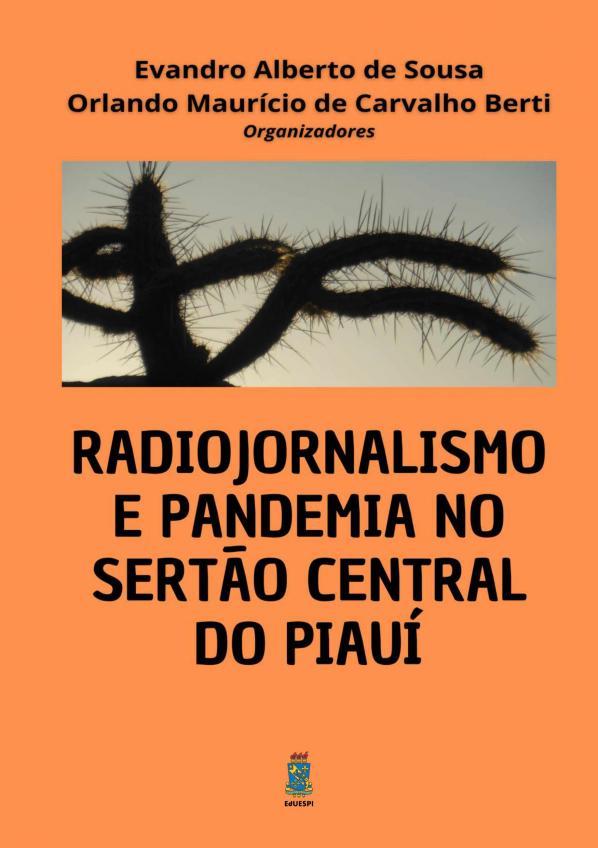 Capa para Radiojornalismo e pandemia no sertão central do Piauí
