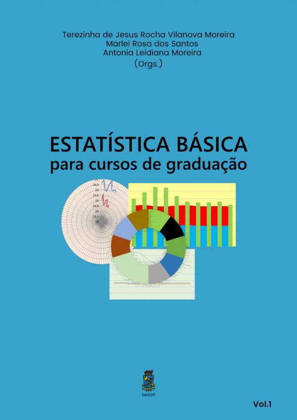 Capa para Estatística Básica para Cursos de Graduação