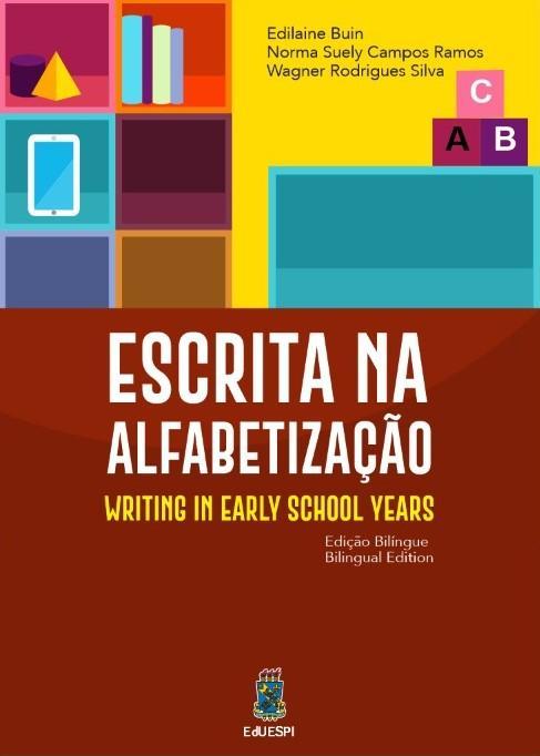 Capa para Escrita na Alfabetização